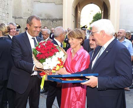 Luigi de Magistris e Frank-Walter Steinmeier