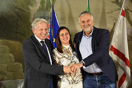 Marco Remaschi, Roberta Casini e Vincenzo Ceccarelli
