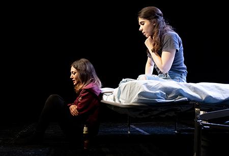 Marina Benetti e Federica Di Cori 'Due amiche' ph Manuela Giusto