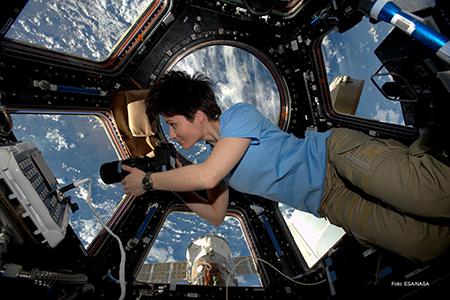Samantha Cristoforetti ph ESA - NASA