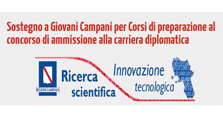 'Sostegno a Giovani Campani per Corsi di preparazione al concorso di ammissione alla carriera diplomatica