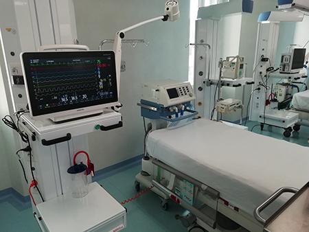 terapia intensiva neurochirurgica al San Camillo di Roma
