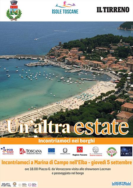 'Un'altra Estate 2019' a Marina di Campo nell'Elba (LI)
