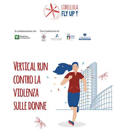 'Vertical Run contro la violenza sulle donne'