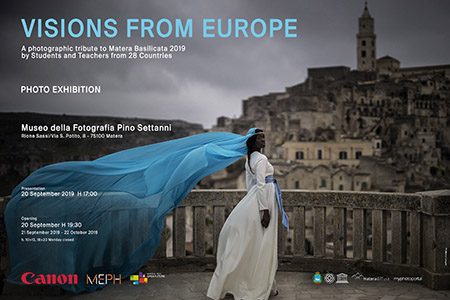 'Visions from Europe - A photographic tribute to Matera Basilicata 2019 by Students and Teachers from 28 Countries'