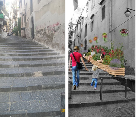 'Adotta una strada' - 'Vico fiorito di Montecalvario'