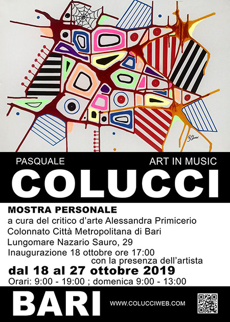 'Art in music' di Pasquale Colucci