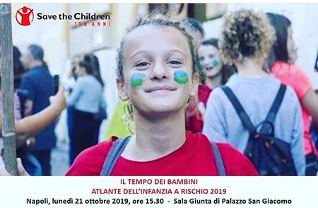 Atlante dell'infanzia a rischio 2019 di Save the Children Napoli