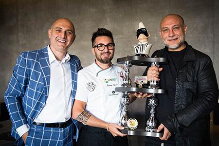Attilio Albachiara, Giacomo Garau e Francesco Martucci