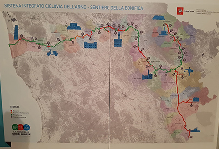 Ciclopista dell'Arno - Sentiero della Bonifica