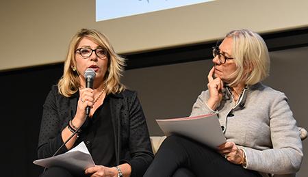 Cristina Grieco e Monica Barni
