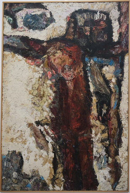 'Crocifissione' di Carmine Di Ruggiero