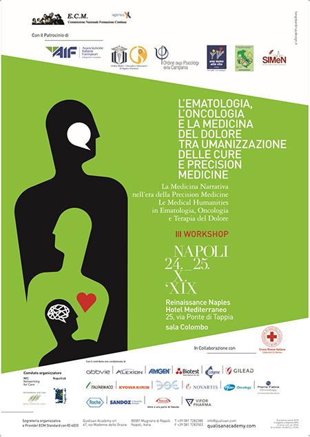 L'ematologia, l'oncologia e la medicina del dolore tra umanizzazione delle cure e precision medicine'