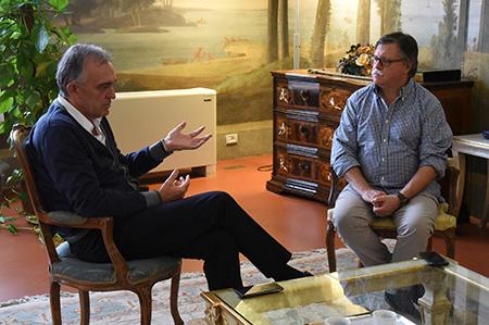 Enrico Rossi e Alessandro Orsetti,