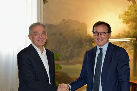 Enrico Rossi e Francesco Boccia