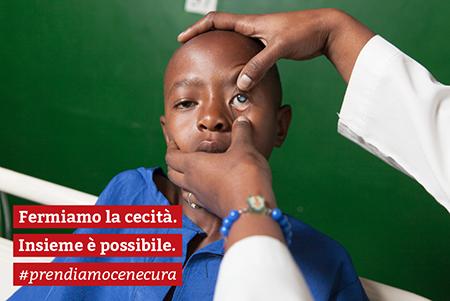 'Fermiamo la cecità. Insieme è possibile'