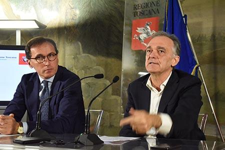 Francesco Boccia ed Enrico Rossi