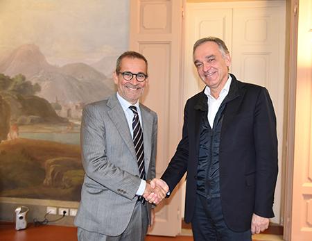 Giampaolo Manzella ed Enrico Rossi