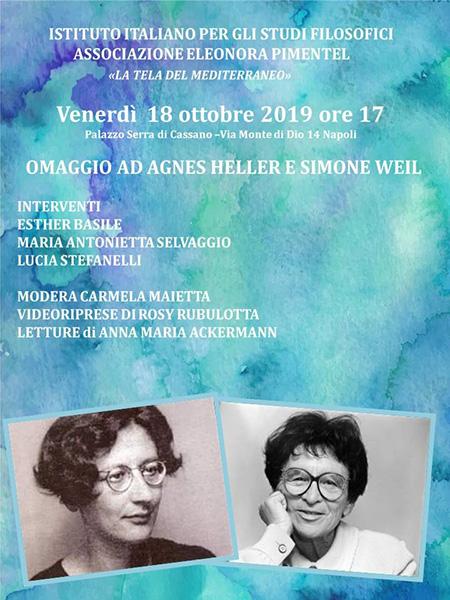 Omaggio ad Agnes Heller e Simone Weil