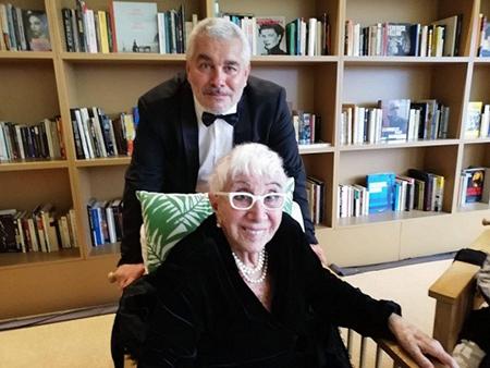 Paolo Rossi Pisu e Lina Wertmüller