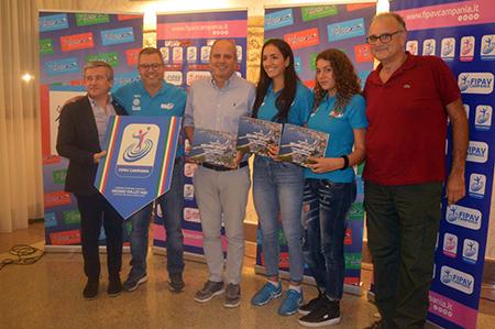 Premiazione Arzano Volley