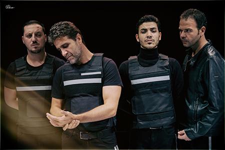 'Quattro uomini chiusi in una stanza' ph Vincenzo Antonucci