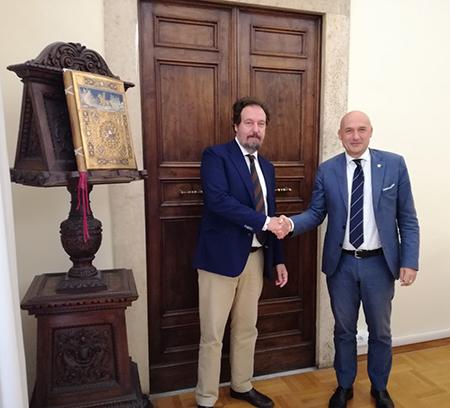 Roberto Negrini e Francesco Frati