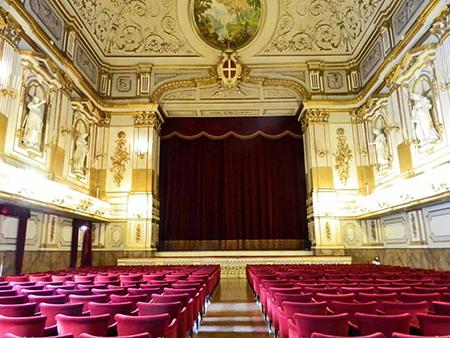 Teatrino di corte Palazzo Reale di Napoli