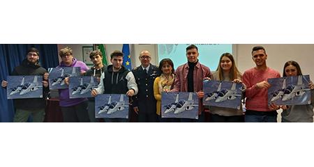 L'Aeronautica Militare fra gli studenti dell'ISIS 'Galileo Ferraris' di Caserta