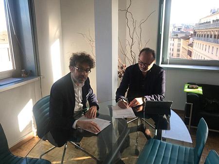 Andrea Di Benedetto e Angelo Migliarini