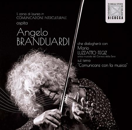 Angelo Branduardi e Mario Luzzato Fegiz