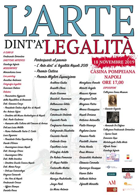 'L'Arte dint'à legalità'