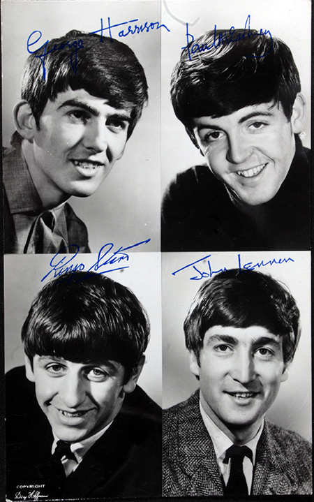 Autografi Beatles