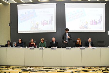 Carlo Borghetti al workshop 'Sì che si può'
