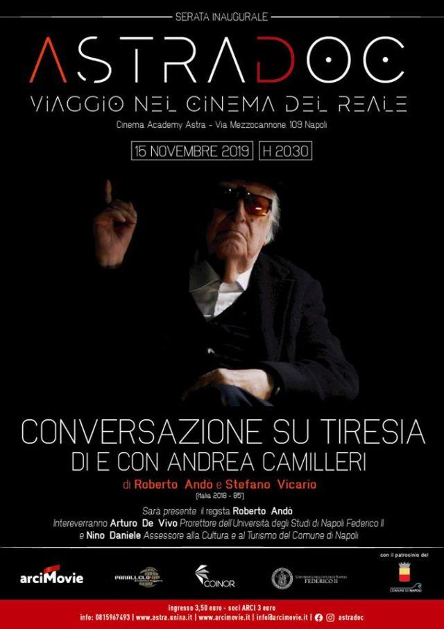 'Conversazioni su Tiresia. Di e con Andrea Camilleri'