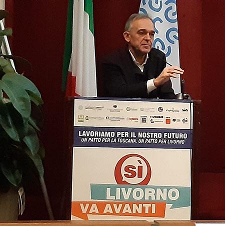 Enrico Rossi Patto per Livorno