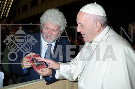 Espedito de Marino e Papa Francesco
