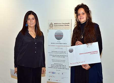 Franca Pastore Marena con Elena Mantello