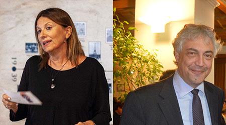 Giovanna Pugliese e Paolo Orneli