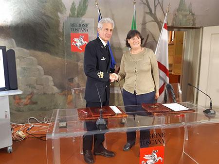 Giuseppe Tarzia e Stefania Saccardi