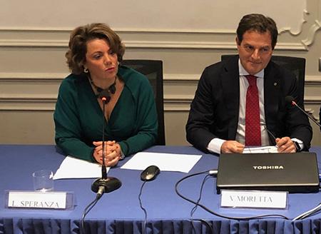 Liliana Speranza e Vincenzo Moretta