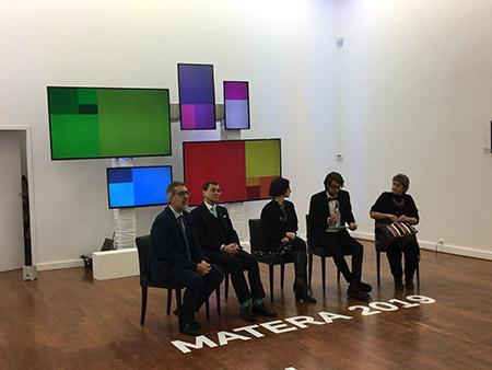 Matera 2019 all'Ambasciata Italiana a Bruxelles