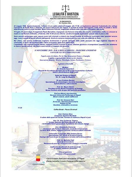 'Napoli contro il crimine'