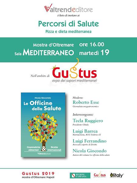 Nicola Giocondo 'Le Officine della Salute. Grammatiche alimentari e ricette internazionali'