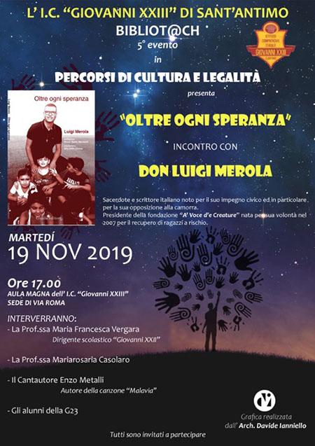 'Oltre ogni speranza' - Incontro con Don Luigi Merola