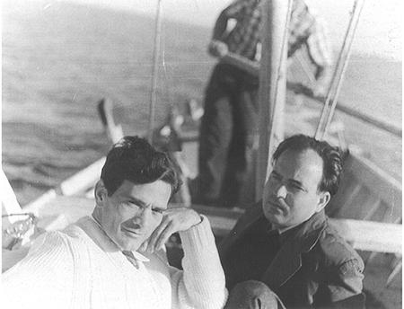 Pier Paolo Pasolini e Giuseppe Zigania