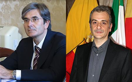 Raffaele Del Giudice e Carmine Piscopo