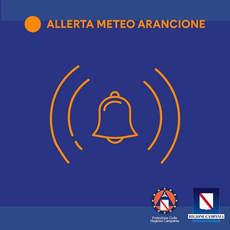 Regione Campania - Allerta meteo arancione