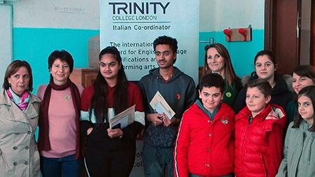 Gli studenti vincitori del 'Chiominto' di Cori (LT)