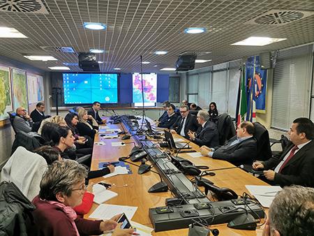 Tavolo di confronto Regione Campania, ANCI Campania, Prefetture su allerta meteo e prevenzione rischi